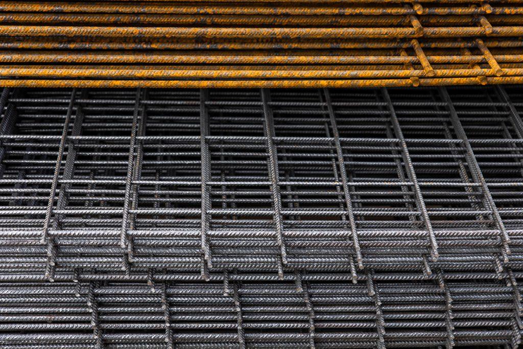 Vlakke betonnetten