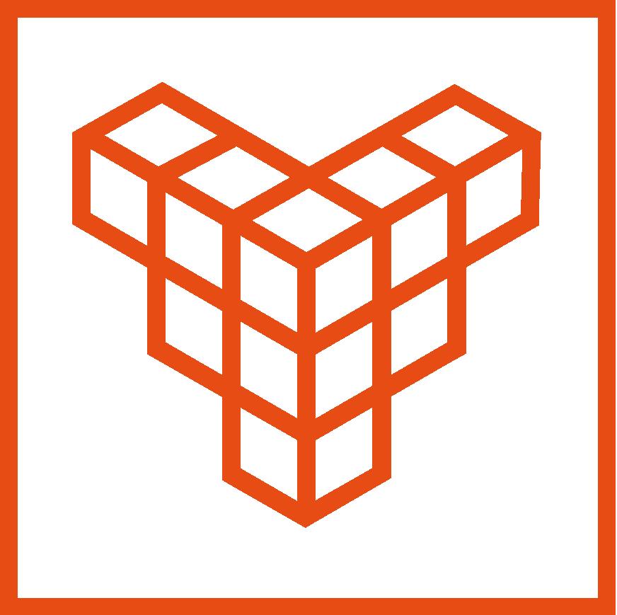 VDW metaal sticky logo